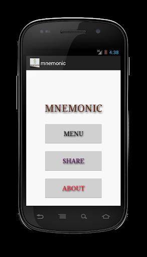 mnemonic