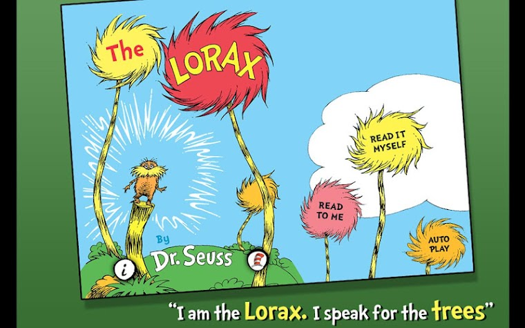 The Lorax - Dr. Seuss Screenshot