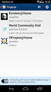 BOINC Screenshot