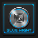 Blue Night Theme TSF Shell icon