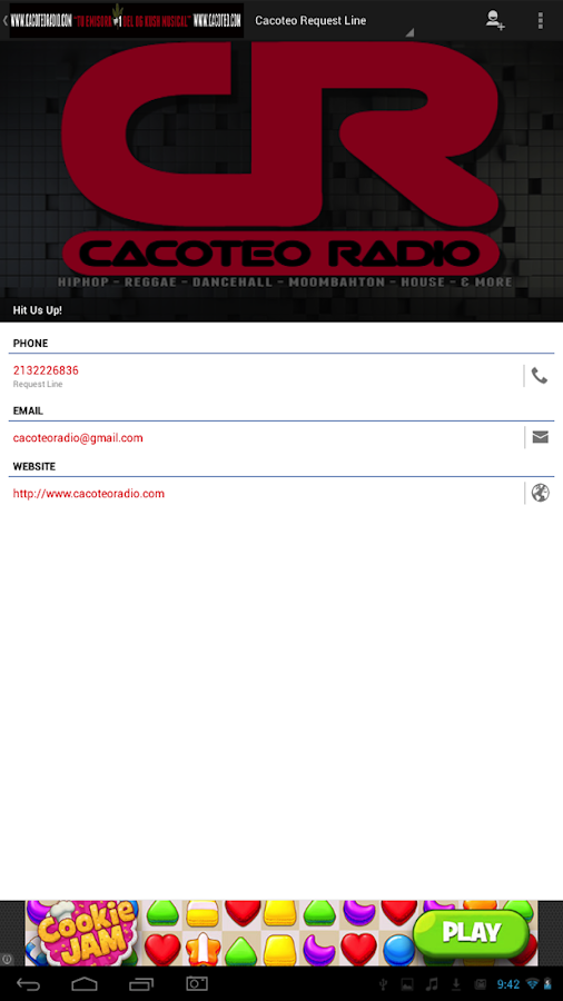 Cacoteo Radio Deluxe Free- screenshot