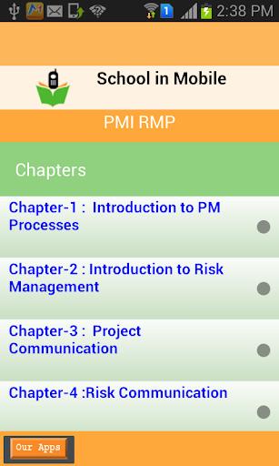PMI RMP kǎoshì zhǔnbèi
