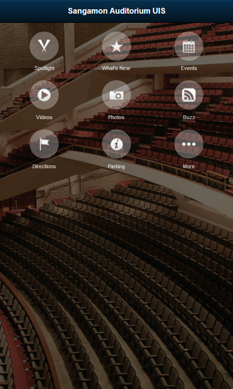 Sangamon Auditorium UIS- screenshot