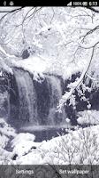 Screenshot of Christmas Snow Live Wallpaper