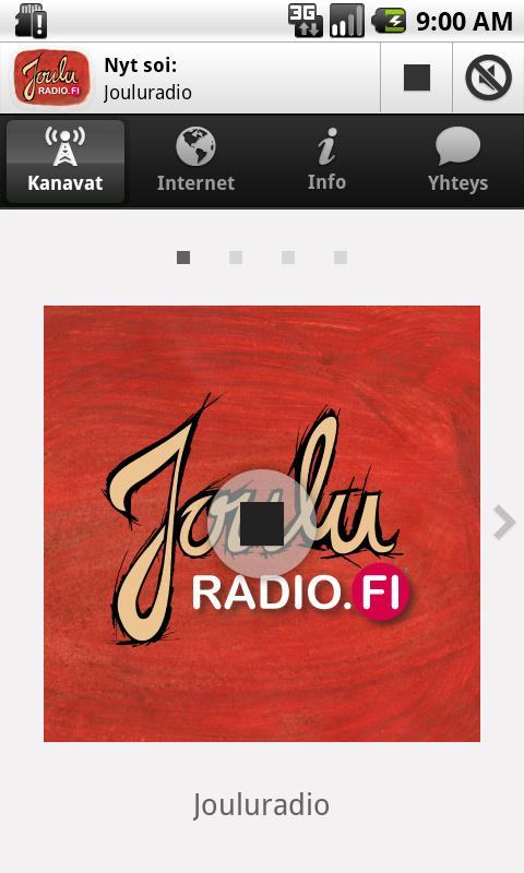 Jouluradio - screenshot