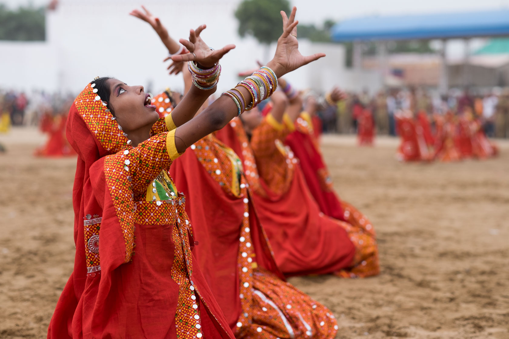 Traditional Dancers, Rajasthan, India