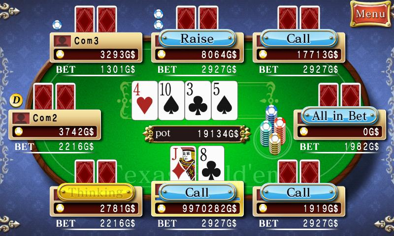 CASINO TOWN - Texas Hold'em - screenshot