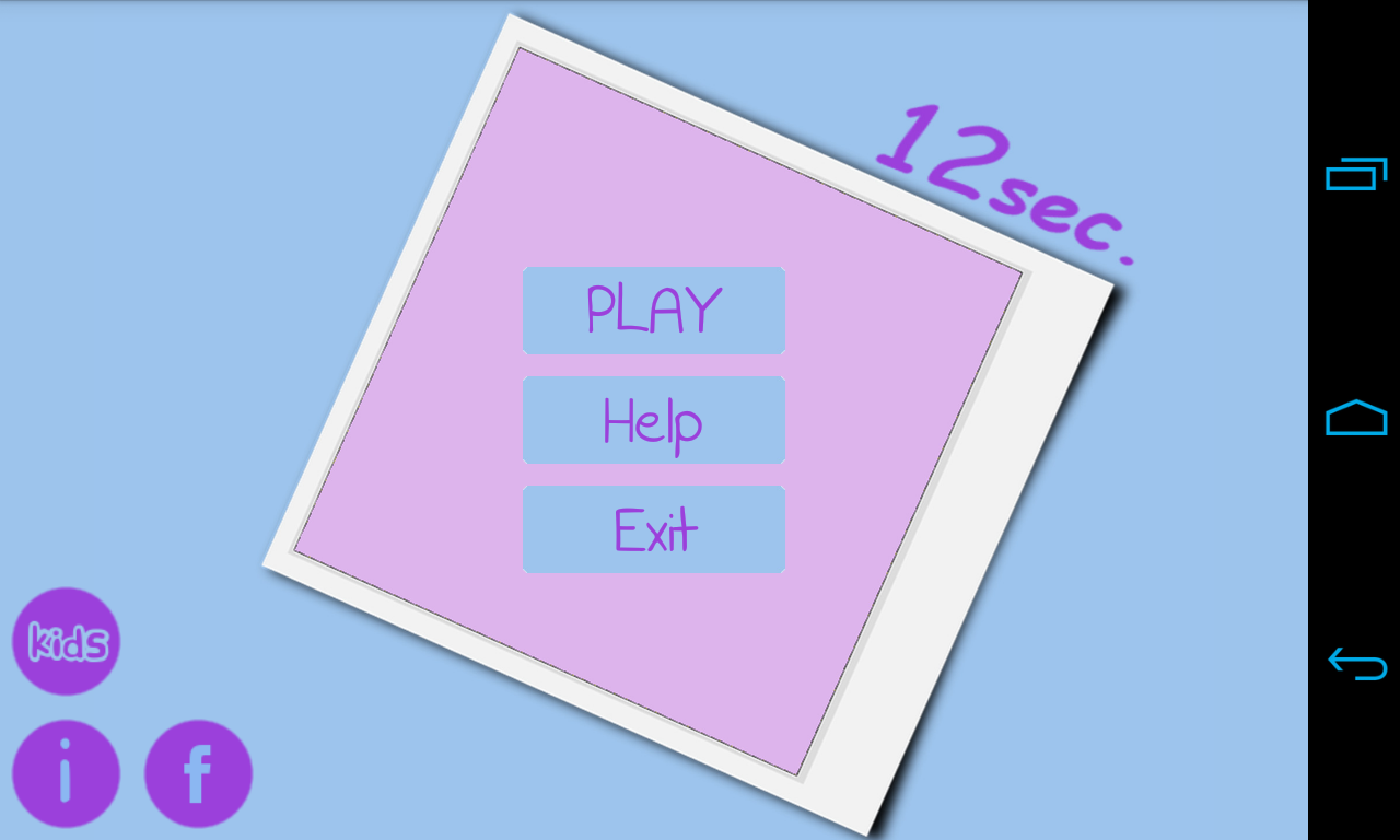 Visual Memory Game - 12sec- screenshot