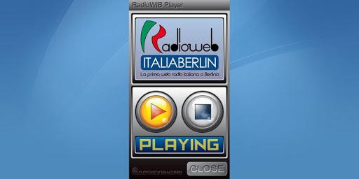RadioWeb ITALIA BERLIN Player