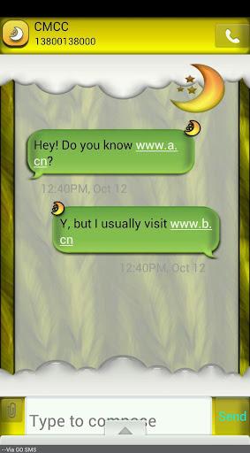 GO SMS THEME HarvestMoon1
