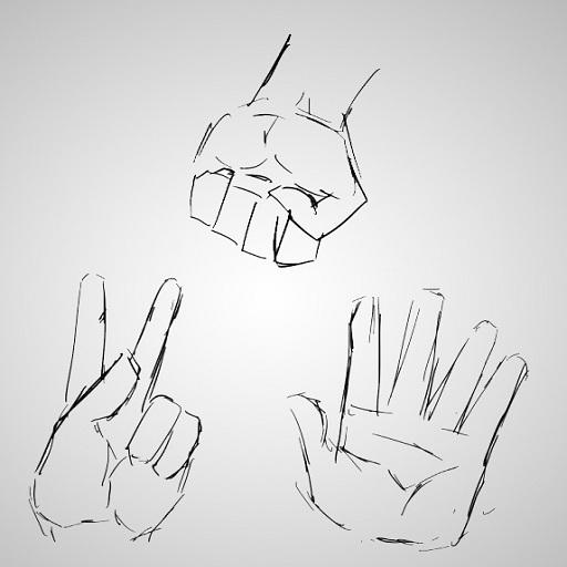 Rock Paper Scissors  CRT