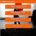10001 Love sms icon