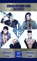 Screenshot of BIGBANG SHAKE