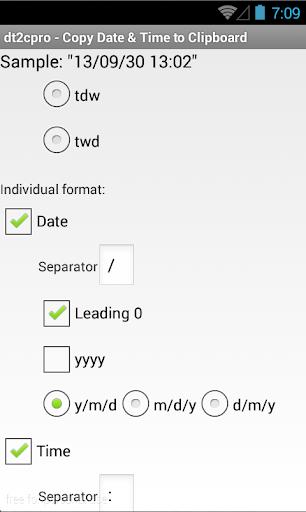 玩工具App|dt2cpro: 複製日期時間至剪貼簿 (pro)免費|APP試玩