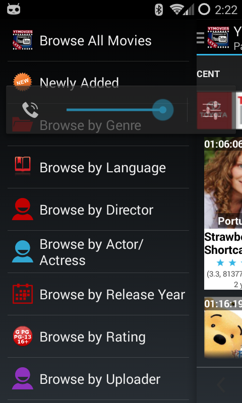 YTMovies-LITE (YouTube Movies) - screenshot