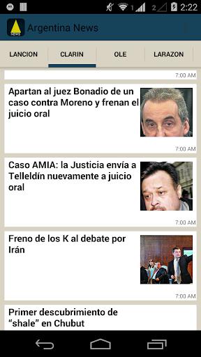 Argentina News - Noticias