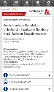Hamburg App- screenshot thumbnail