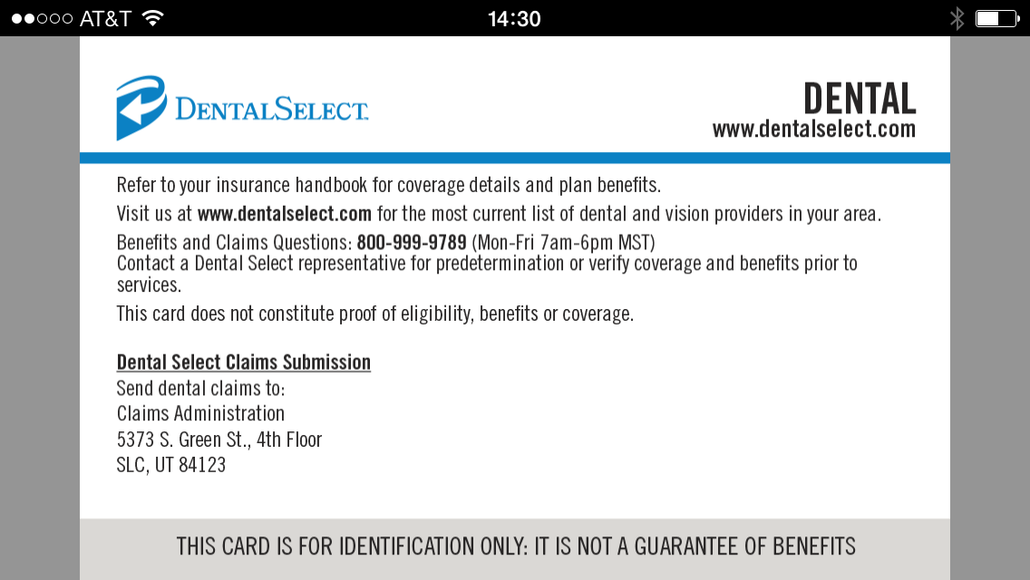 Dental Select Insurance | Dental Select Mobile ID - Android Apps on Google Play