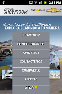 Chevrolet Showroom - screenshot thumbnail
