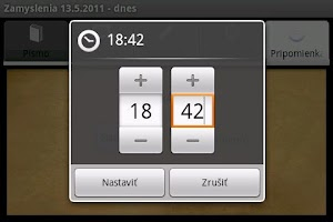Screenshot of Zamyslenia