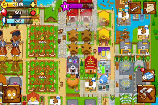 Bloons Monkey City  screenshots 1