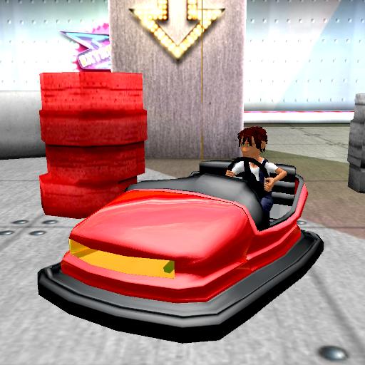 模擬App バンパー車のトレーニングコースの3D LOGO-3C達人阿輝的APP