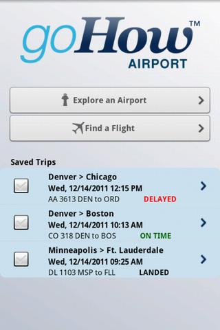 goHow Airport - screenshot
