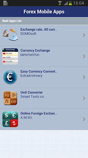 Online Forex Apps