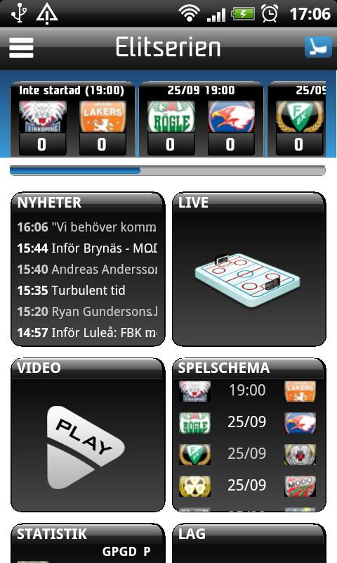SHL - screenshot