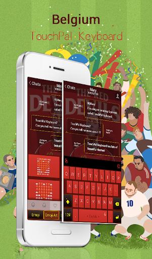 玩免費運動APP|下載TouchPal Belgium_FIFA Theme app不用錢|硬是要APP