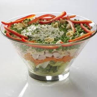 Pesto Tortellini Chicken Salad.