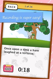 Record your Bedtime Story- screenshot thumbnail