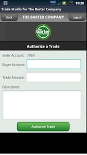 Trade Studio - Barter Company- screenshot thumbnail