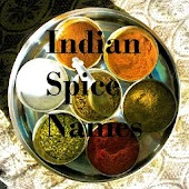 Indian Spices Names