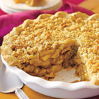 Crumb-Topped Apple Pie.