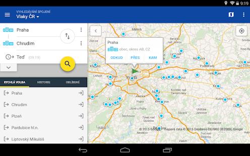 Offline Jízdní řády CG Transit Screenshot 24
