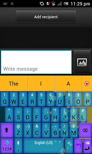 Adaptxt Phone Holi Theme