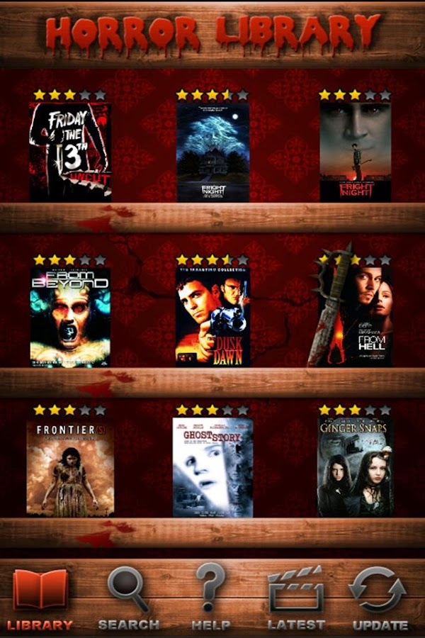 Best Horror Movies Dtbase FREE- screenshot