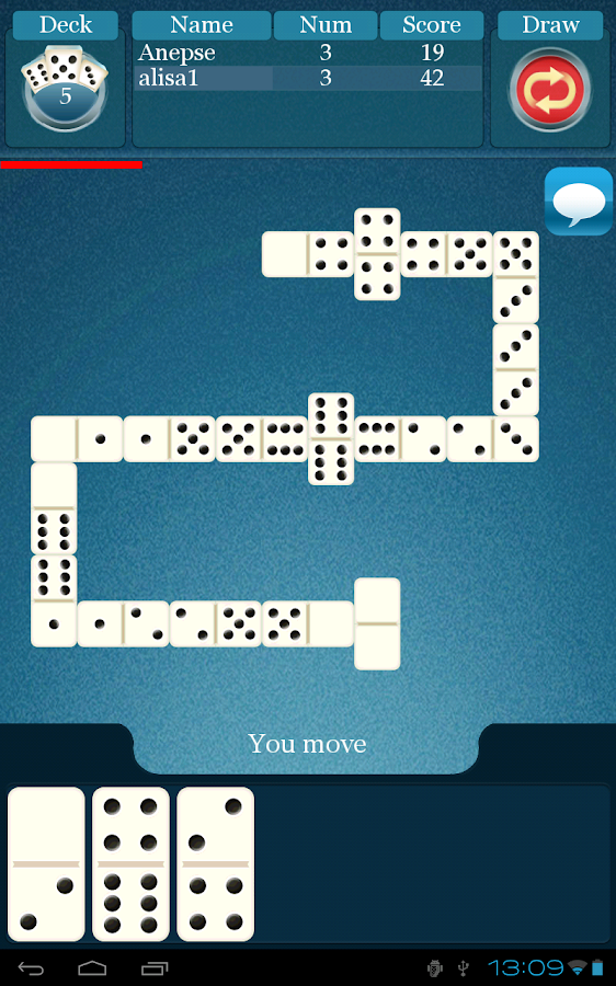 Dominoes Online Free - screenshot