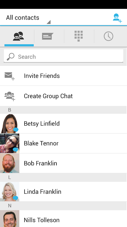 Messaging Plus - screenshot