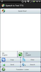 Speech to Text Translator TTS v3.1.4 [Mod] APK 2