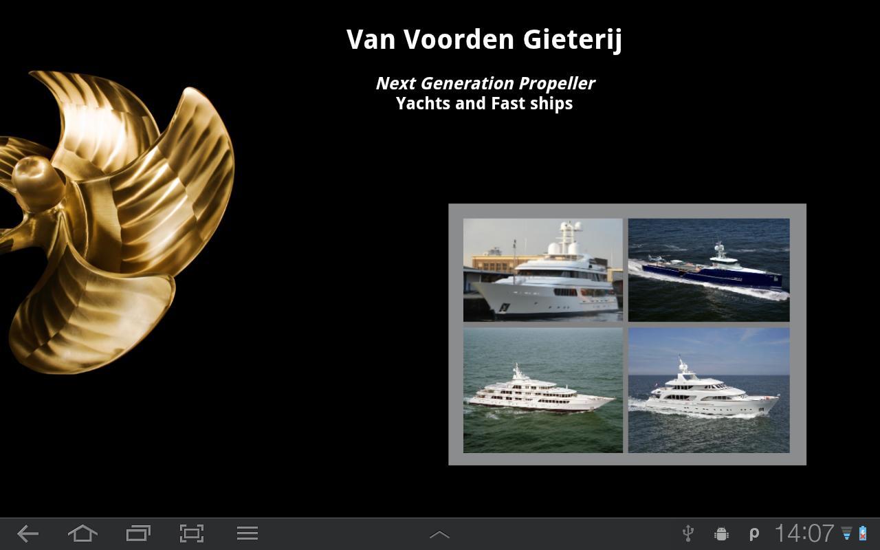 Van Voorden Yachts/Fast ships- screenshot