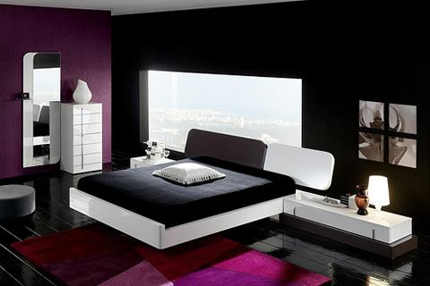 black white bedroom ideas screenshot