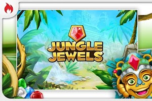 Screenshot of Jungle Jewels Deluxe