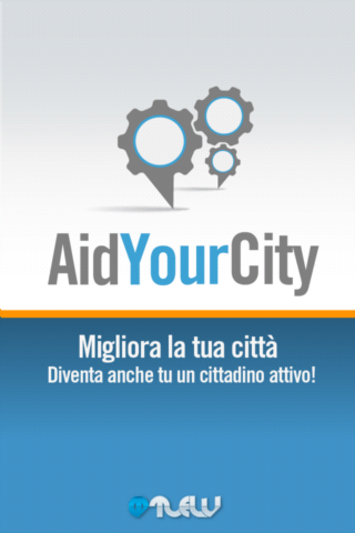 AidYourCity- screenshot