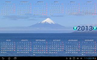 Screenshot of CalendarioCL