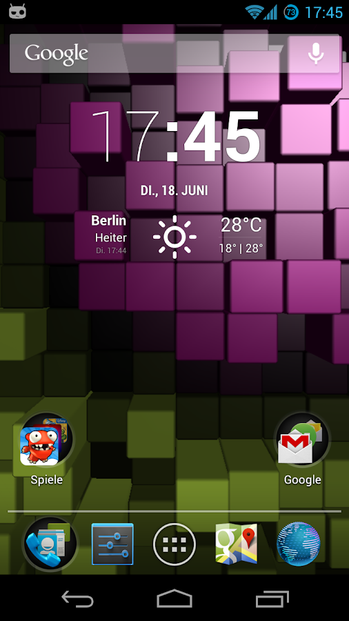 Blox Pro: Live Wallpaper - screenshot