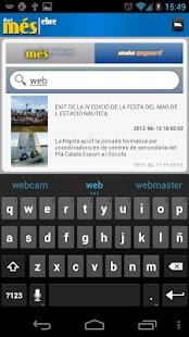 Més Ebre (smartphones)- screenshot thumbnail