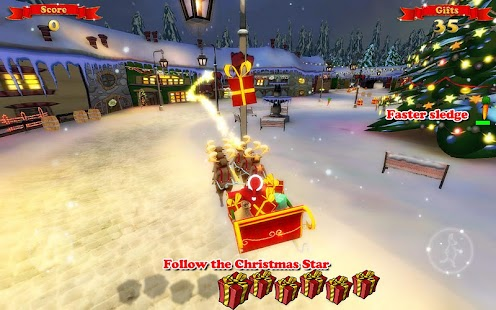 Santa Ride! HD- screenshot thumbnail