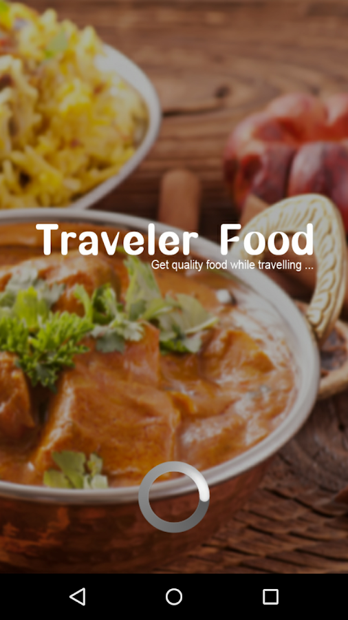 Traveler Food-Food in Trains- screenshot